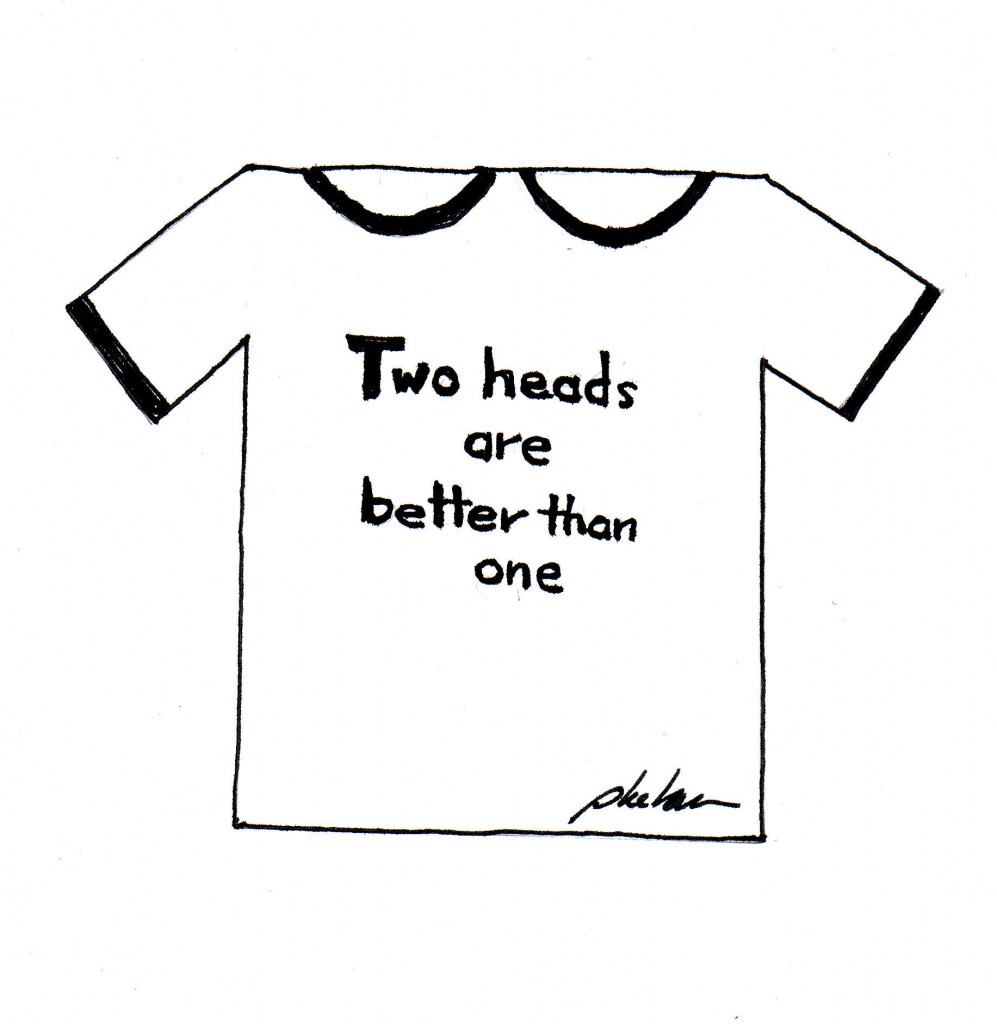 One of my numerous unsuccessful T-shirt designs