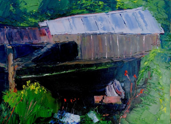 "Oil on canvas 11"" x 14"""